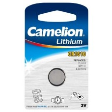 Boton Litio CR1616 3V (1 pcs) Camelion