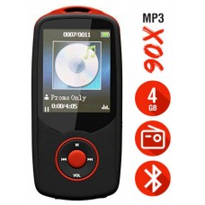 Reproductor MP3 Bluetooth 4Gb X06 Rojo