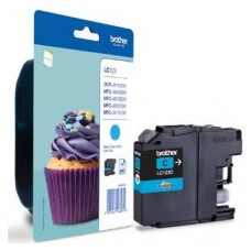 Brother LC-123CBP Cian cartucho de tinta