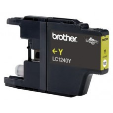 Brother LC-1240YBP Amarillo cartucho de tinta
