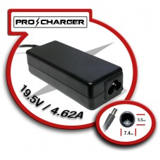 Carg. 19.5V/4.62A 7.4mm x 5.0mm 90w Pro Charger
