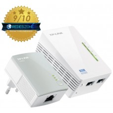 TP-LINK TL-WPA4220KIT 300Mbit/s Ethernet Wifi adaptador de red powerline