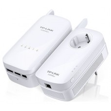 TP-LINK AV1200 1200Mbit/s Ethernet Wifi Blanco 2pieza(s) adaptador de red powerline
